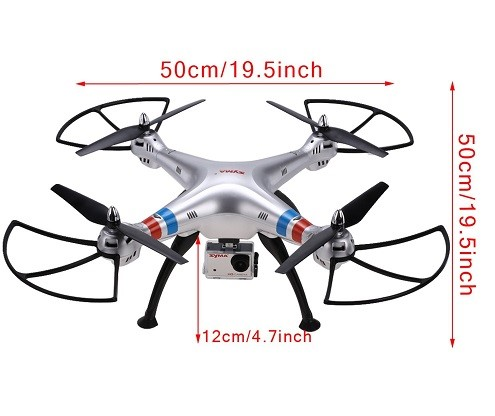 Flying Drone With Video        Camera Mauk        GA 31058